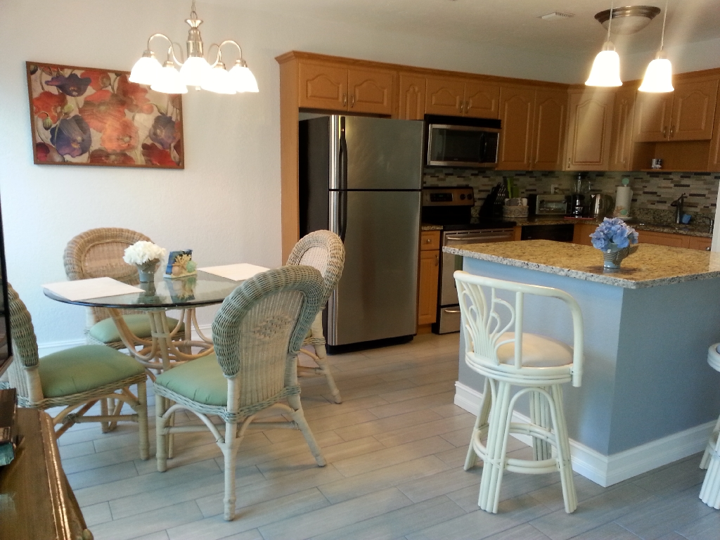 kitchen - dining area