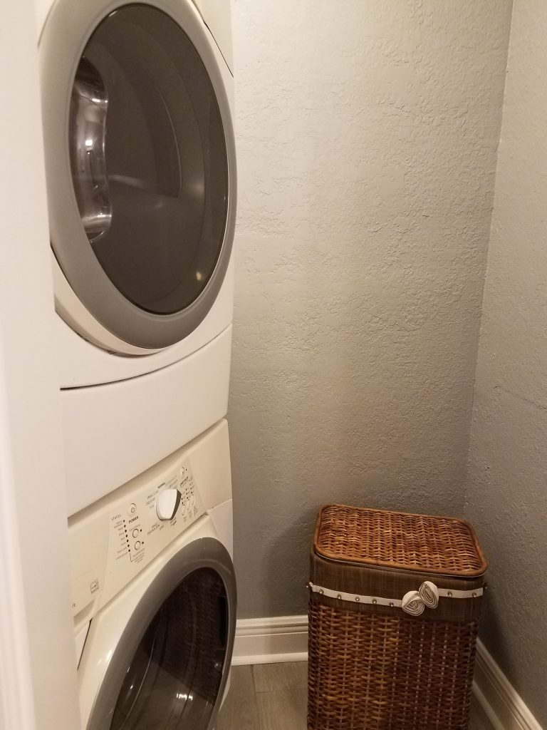 sienna park vacation rental 245 - washing machine